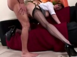 grown-up stockings seduction fucking
