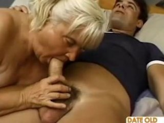 ugly chubby granny banging