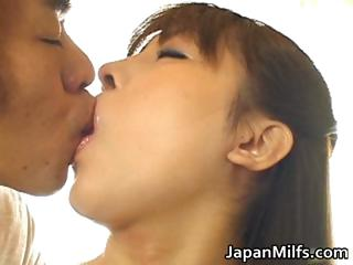 slutty japanese milfs licking and fucking part6