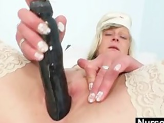 filthy doctor girl nada bangs herself with giant