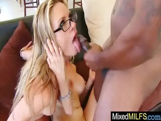 chick enjoy ebony cock into her cave video24