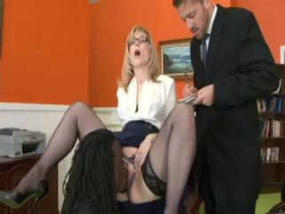 therapist watches mature babe alexis hartley fuck