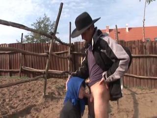 elderly wills some fresh cowboy to ride her