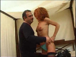 spanish red-haired mature babe