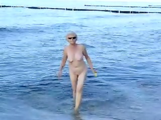 granma at the sea coast