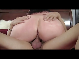 plump lady uneasy drilled