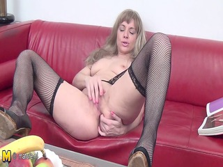 extremely impressive mother and her juicy vagina