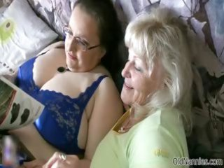 busty old likes having homosexual woman fuck part6