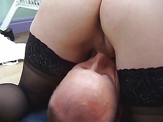 pale woman into stockings gang-bangs and obtains