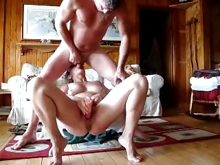 face-sitting on wife