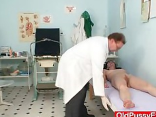 amateur cougar angel cunt checkup by dirty gyn