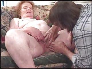 angry granny elderly