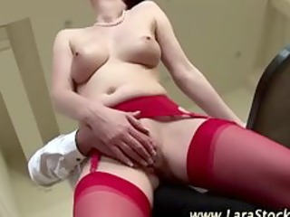 real british babe gives man a dick licking ans