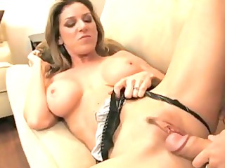 super bleached milf knows what she wishes big