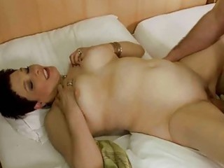 elderly enjoys massage and difficult porn