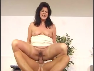awesome curvy euro brunette hair old