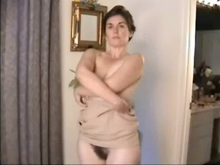 delightful bushy cougar acquires naked for you