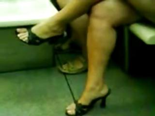 mature crossing foot