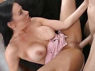 vanilla de ville hottie lady own laid on couch