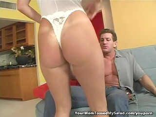 wonderful angel likes eating her mans bottom