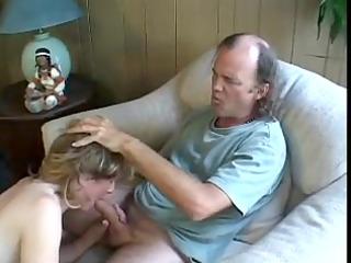elderly albino obtains butt