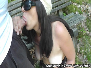 babe acquires banged by strangers into a park