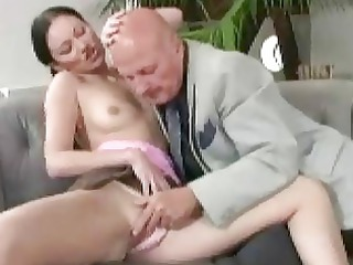 grandpa bangs sweet young lady