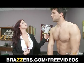 hot redhead babe tiffany mynx punished for poor