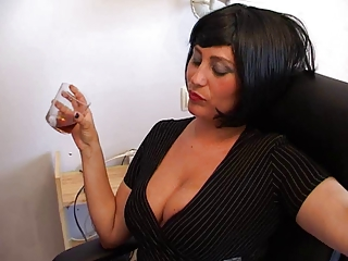 mature babe assistant