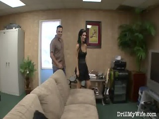 horny maiden does a stranger and she likes it