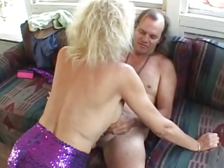 blonde old fucked