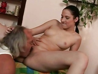 ugly grandpa and hot amateur