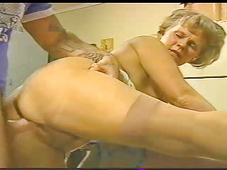 slutty old mmf with amateur studs