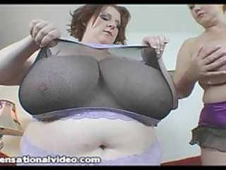 two big boob bbw wives acquires on a huge cock