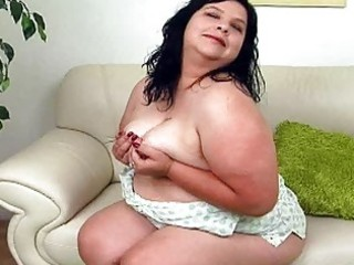 giant dark haired lady with huge bosom sticks