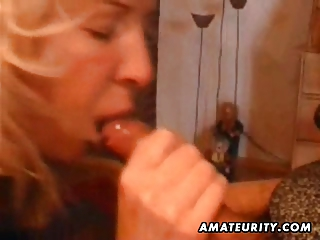 cougar young wife home full cock sucking with