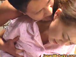 super lady mina toujou is gang-banged uneasy part1