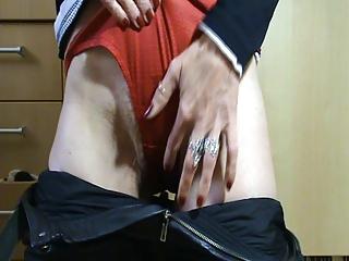 mature with wet vagina and stinky panties.