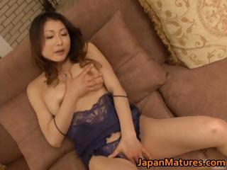 naughty japanese grown-up girls sucking part1