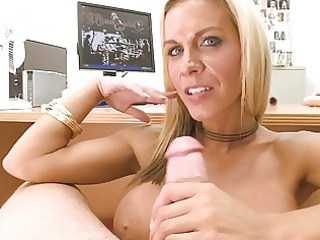 horny young belle acquires nailed at her office