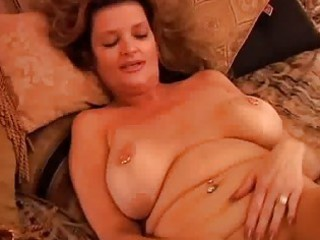 mature girl frigs herself until she has orgasm