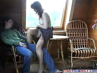 experienced milf drilled by son part 2