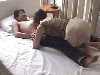 cheating japanese angel gangbanged with