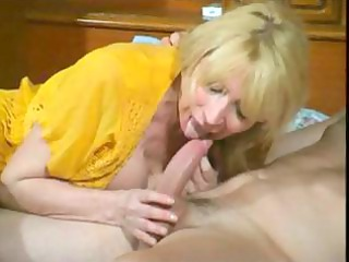 slutty grown-up pale whore eats his tool and