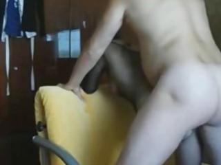 amateur woman takes ass creampie