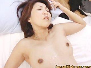 naughty japanese grownup chicks sucking part5
