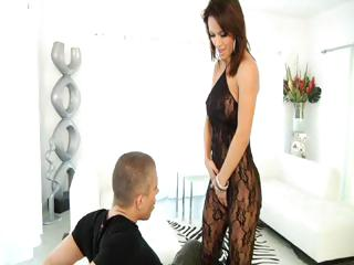 hot brunette woman franceska jaimes takes two