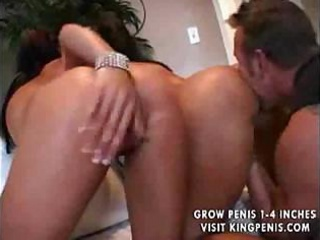 naughty ladies feel so excited as guy shoots his