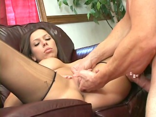 foursome with a nylons ripping footjob obsess
