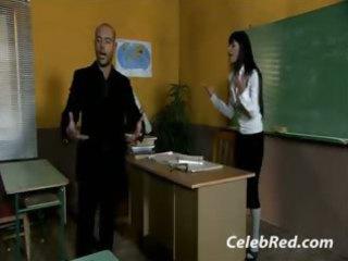 extremely impressive european mature babe teacher